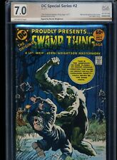 Swamp Thing DC Special Series 2 Signed Bernie Wrightson! PGX 7.0 (Like CGC SS)!