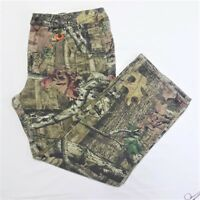 Pre-Owned! Mossy Oak Men's Camouflage Pants, Camping, Hunting, Size 38/32