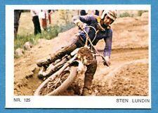 MOTO - Ed. Raf - Figurina/Sticker n. 125 - STEN LUNDIN -Rec