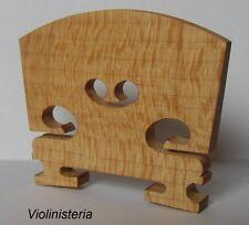 Violin Bridge Old Flamed Maple Size 1/8, 1/4, 1/2, 3/4 and 4/4 UK Seller