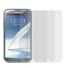 3pcs Clear LCD Screen Protector Guard Film For Samsung Galaxy Note II 2 N7100