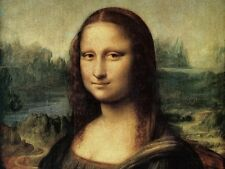 Art Hd Canvas Print Mona Lisa Oil painting Printed on canvas 16x20 inch P401