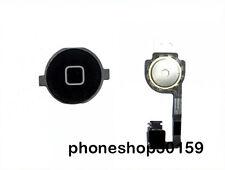 Apple iPhone 4 4G Schwarz Home Button + Homebutton Flex kabel NEU