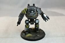 Warhammer Space Marine Iron Warriors Contemptor Dreadnought Well Painted