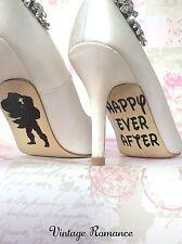 Ariel e Eric LA SIRENETTA DISNEY wedding sposa scarpa suola Vinile Decalcomania