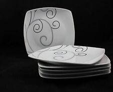Porzellan 6er Set Teller MenüTeller Dessertteller 23cm Malia ann TK-972  Neu