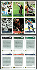 2003 Upper Deck Magazine Promos, Gretzky, Mantle, Jordan, Woods, Vick, Ichiro..