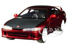 1995 HONDA INTEGRA TYPE-R (JAPAN SPEC) RED 1/24 DIECAST MODEL CAR BY JADA 30932