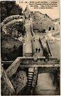 CPA Mont Saint-Michel - Abbaye - Vue de l'Escalier prise en aéroplane (245839)