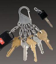 Nite Ize S-Biner Keyrack Locker Steel Carabiner Keyring Stainless KLK-11-R3