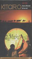 Kitaro from Silkroad to ku-kai 10 CD Box NEU Best of Absoluter Hörgenuß