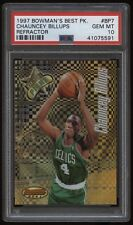 1997 Bowman's Best Best Picks Refractor #BP7 Chauncey Billups PSA 10
