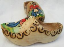 Vintage Windmill Wooden Shoes Clogs Made In Holland Wall Decor