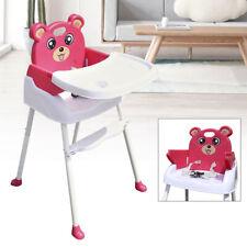 4 in1 Babystuhl Hochstuhl Kinderhochstuhl Verstellbar Treppenhochstühle klappbar