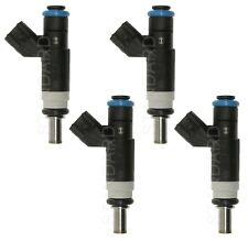 Set of 4 Standard Fuel Injectors for Chrysler 200 Dodge Caliber Jeep Patriot L4