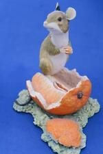 BORDER FINE ARTS MOUSE on ORANGE by AYRES