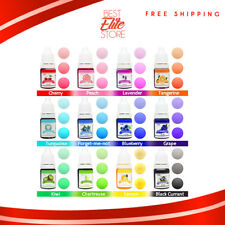 Bath Bomb Dye Coloring 12 Dyes Kit For Babies And Fragrance Free Blue Slime Safe
