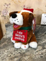 "RARE ELVIS 10"" Animated Singing Sings Blue Christmas New I Ate Santa's Cookies"