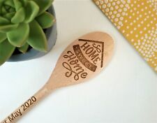 Home Sweet Home Engraved Personalised Wooden Spoon / House warming / New Gift