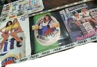 Beer Poster Advertising Bud Light Coors & more Lot Of 4 Vintage 90's rough shape