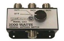 Workman Cx3 3-Position Cb Radio Coax Antenna Switch