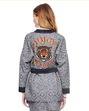 """$378 JUICY COUTURE Rio Jacquard Belted JACKET """" Juicy Wildcat """" Tiger XS"""