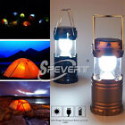 Solar Camping LED Lantern Rechargeable USB Solar Torch Light Outdoor Hiking Lamp