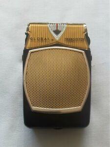 Vintage Global Transistor 6 Radio Model GR-711 1960