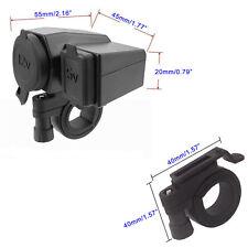 12V 2.1A  Motorcycle Cigarette Lighter Waterproof Power  USB Port Socket Charge