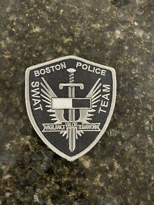 Boston Police SWAT patch