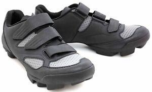 Giant Liv Fera Mountain Bike Shoes EU 38 US Women 7.5 Black Grey 2 Bolt MTB SPD