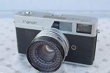 Vintage CANON CANONET 35mm Film Camera 45MM 1:1.9 SE Lens & Black Leather Case