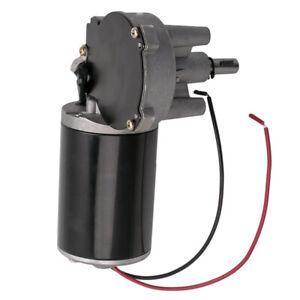 24V DC Electric Gearmotor Speed Torque Reversible Adapter Gear Box Motor  30Nm