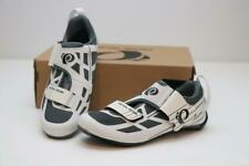 New Pearl Izumi Tri Fly Select v6 Road Bike Shoes 38 7 White Silver Women's SPD