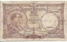 "20 francs type ""1914""  19-sept-1941"