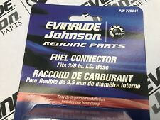 """New Fuel Line Connector for Johnson Evinrude Outboard Motors 775641 (3/8"""")"""