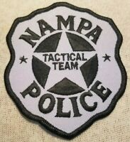 ID Nampa Idaho SWAT Police Patch