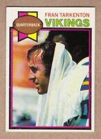 1979 Topps #200 Fran Tarkenton Minnesota Vikings Near Mint NM condition