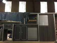 Vw T5/T6 light weight ply furniture units Vivaro Transit Vito camper Black Pine