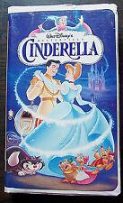 "Walt Disney Masterpiece Collection: ""Cinderella"" VHS, 1995 princess tape video"