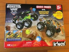 K'NEX Monster Jam Grave Digger versus Maximum Destruction Building Set