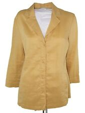 dream giacca blusa donna ocra ramie taglia it 42 m medium