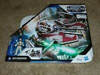 Star Wars Mission Fleet Obi-Wan Kenobi Jedi Starfighter Vehicle Stellar Class