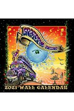 2021 Grateful Dead Wall Calendar 12x12 Inches with  FREE STICKER