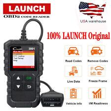 LAUNCH 3001 OBD2 Scanner OBD Code Reader Car Check Engine Fault Diagnostic Tool