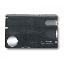 Victorinox SwissCard Bladeless Nailcare Travel Pocket Tool (Black)