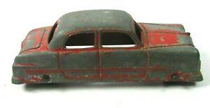 Vintage Tootsie Diecast Metal 1949 Red Ford Sedan USA