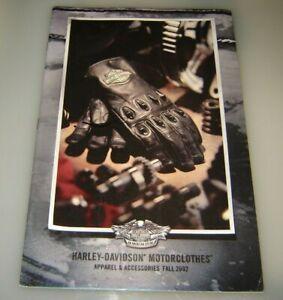 Tomber 2002 HARLEY-DAVIDSON Motorclothes Vêtements Accessoires Catalogue