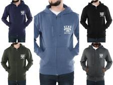 Ecko Designer Mens Fleece Hoodie Full Zip Hoody Winter Full Zip Up Hooded Top