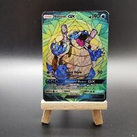 Blastoise GX - Stained Glass Art - Custom Pokemon Card - Pokemon Orica